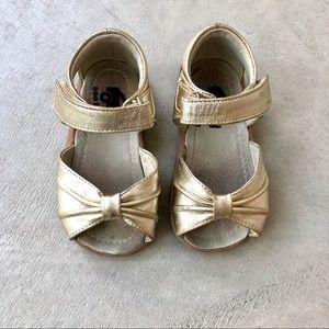 See Kai Run Gold Sandals